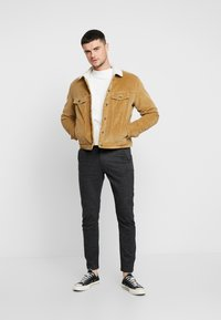 Jack & Jones - JJIALVIN JJSHERPA - Light jacket - kelp - 1