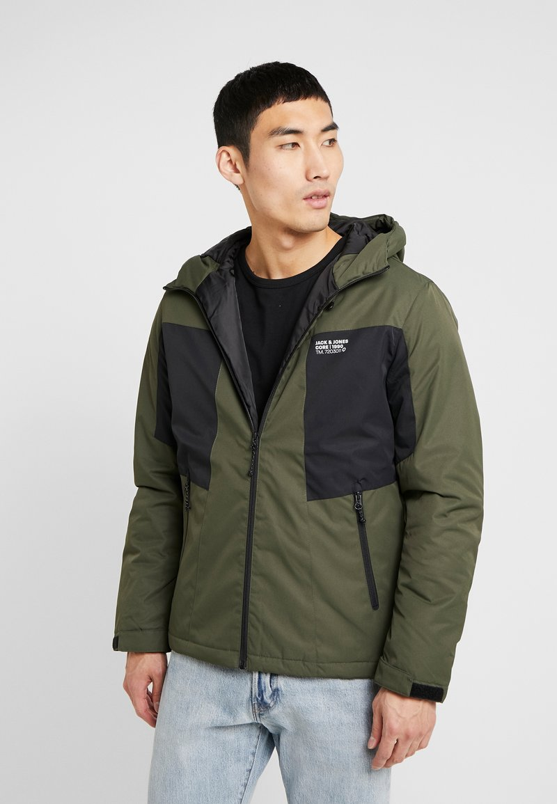 Jack & Jones - JCOBEST JACKET  - Chaqueta de invierno - forest night
