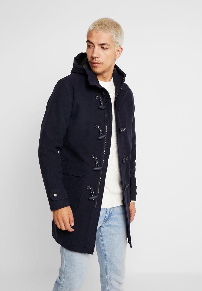 Jack & Jones - JORDUFFLE COAT - Classic coat - navy blazer