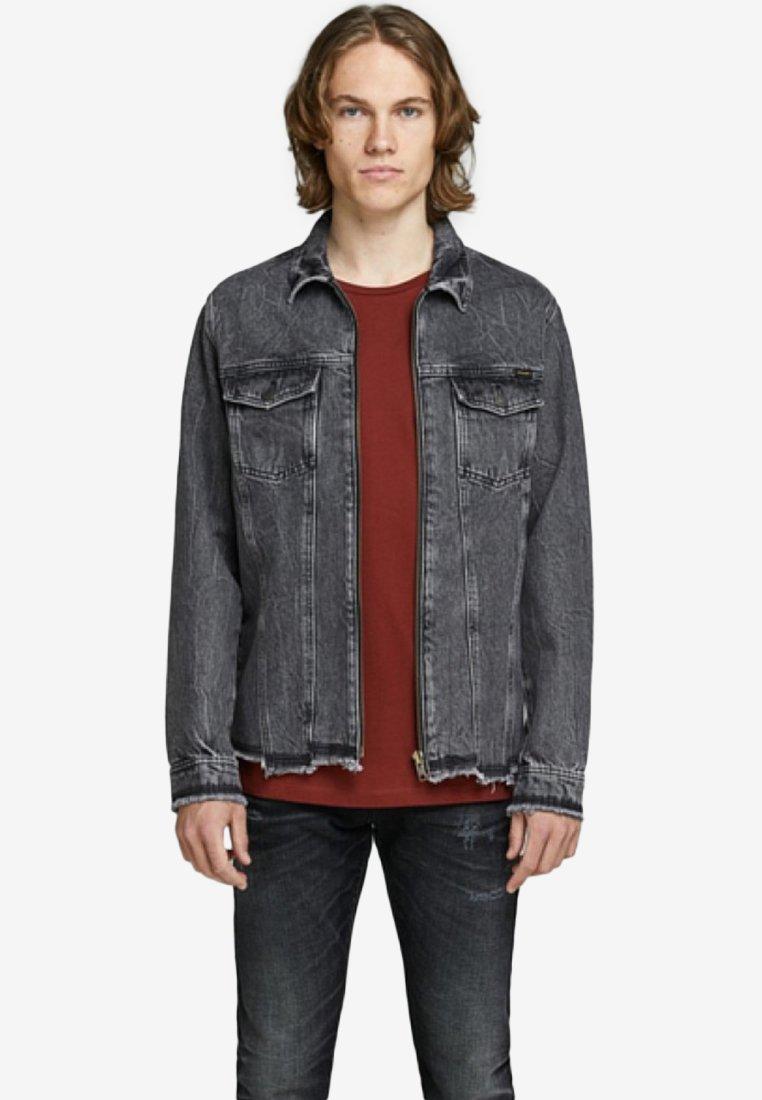 Jack & Jones - Denim jacket - grey denim