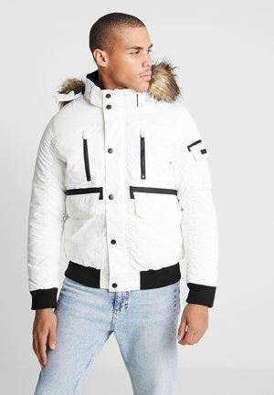 JCOGLOBE BOMBER - Winterjas - white