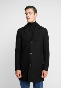 Jack & Jones - JORBLINDERS COAT - Kurzmantel - black - 0