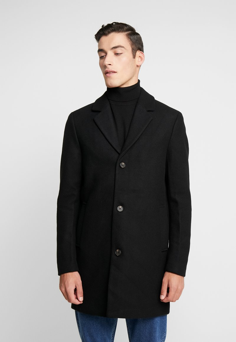 Jack & Jones - JORBLINDERS COAT - Kurzmantel - black