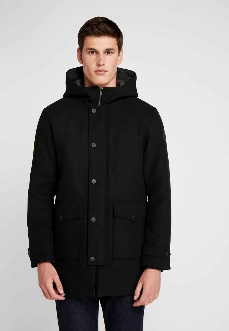 Jack & Jones - JCOVEGAS  JACKET - Classic coat - black