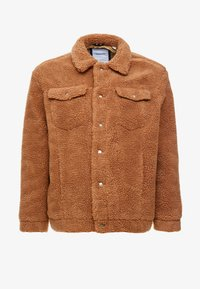 Jack & Jones - JORTEDDY TRUCKER - Winterjas - tigers eye - 3