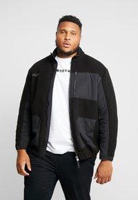 Jack & Jones - JCODRUM JACKET - Fleece jacket - black - 0
