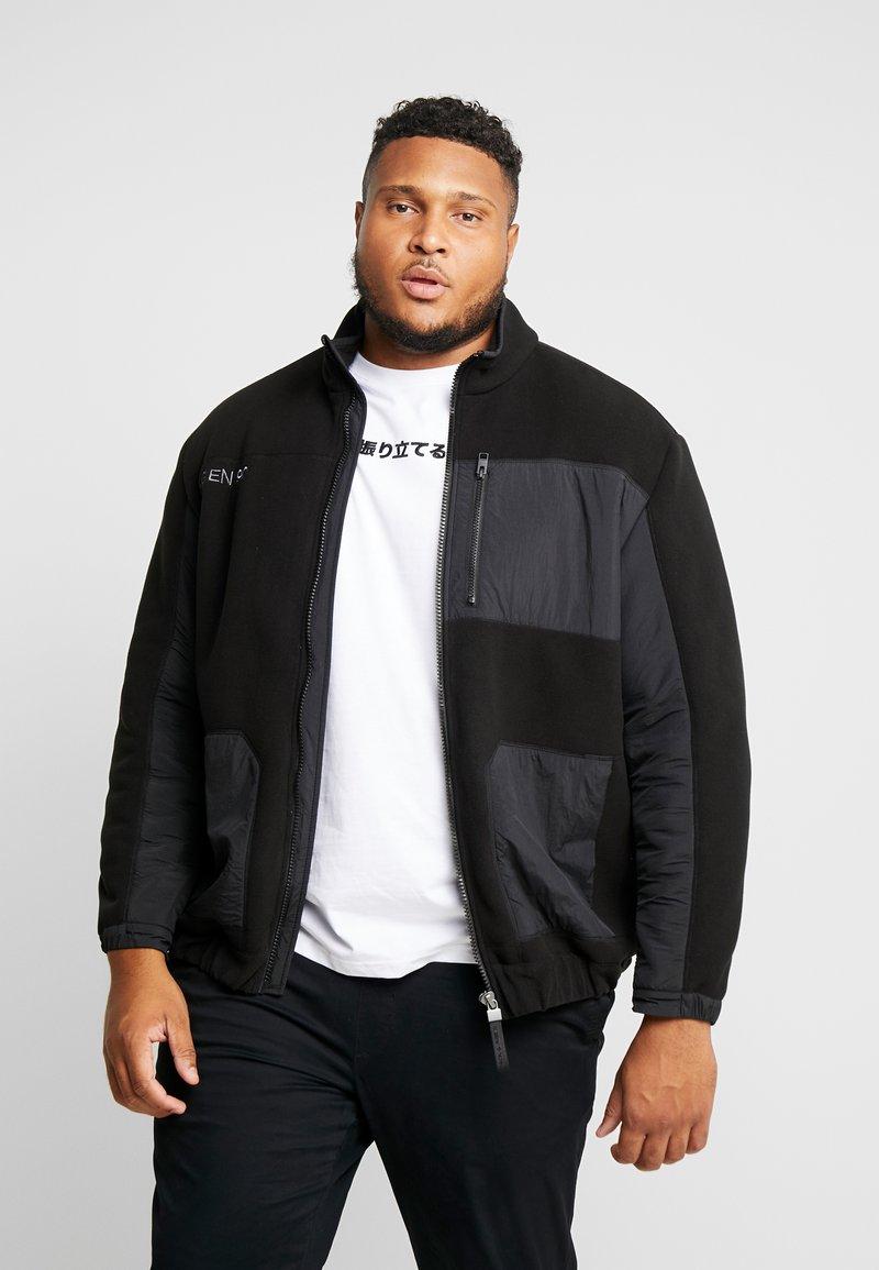Jack & Jones - JCODRUM JACKET - Fleece jacket - black
