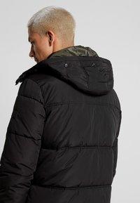 Jack & Jones - JCOMARIO PUFFER - Zimní kabát - black - 3