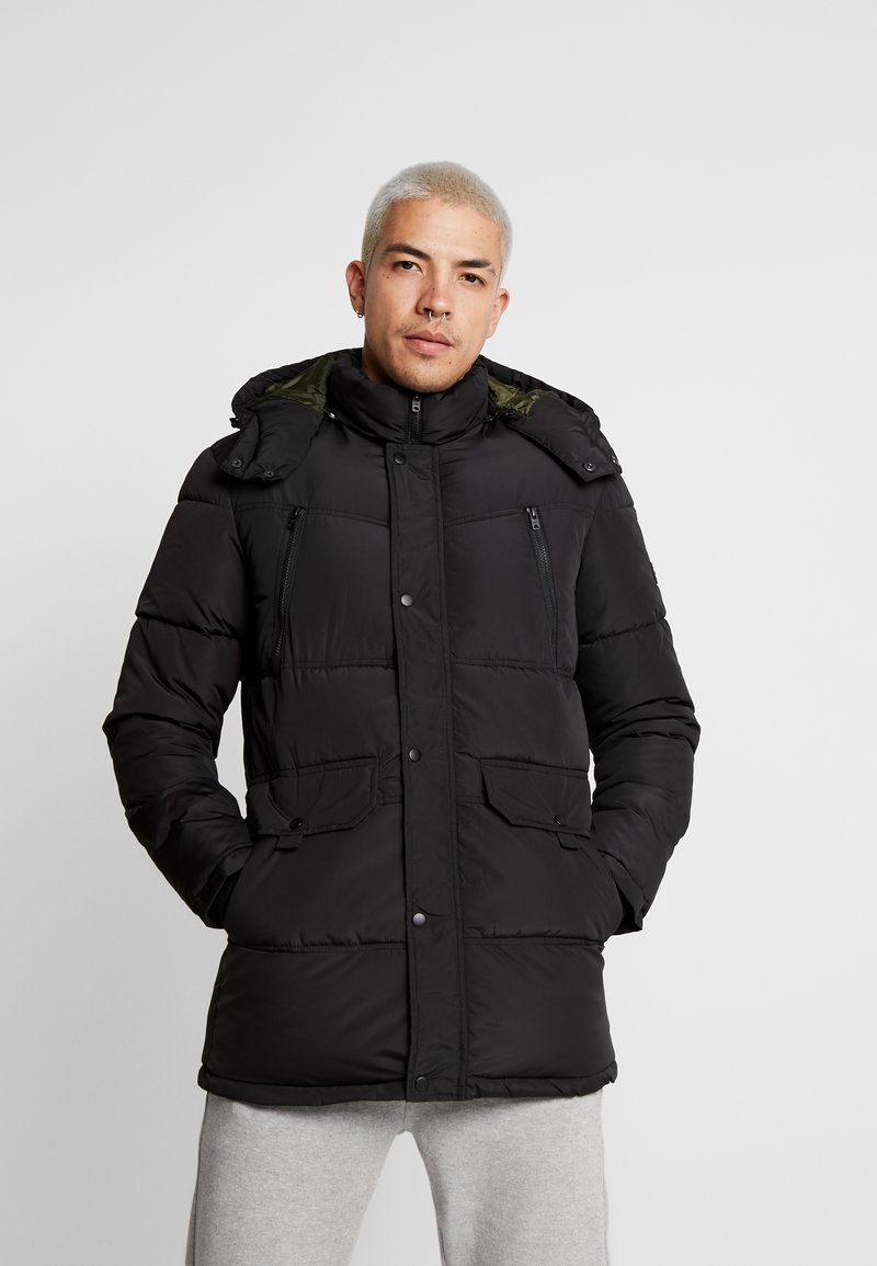 Jack & Jones - JCODEACON - Winter coat - black