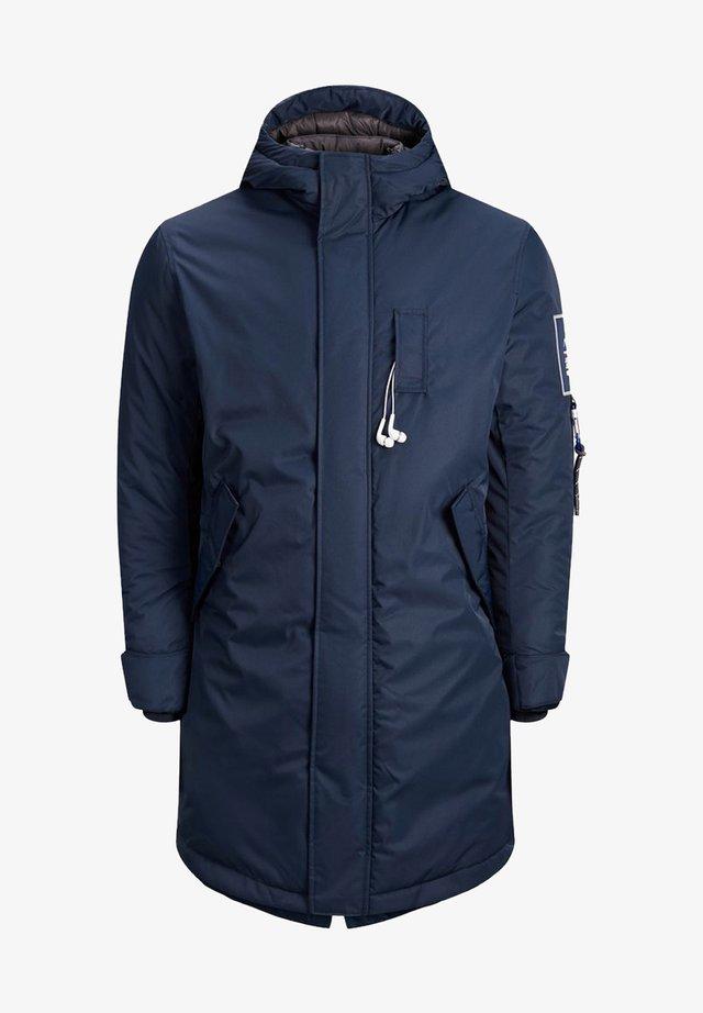Wintermantel - navy blazer