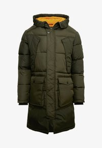 Jack & Jones - JCOJAKE LONG PUFFER - Parka - forest night - 3