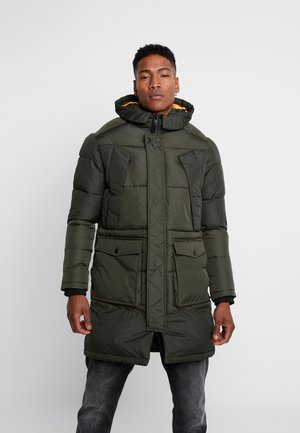 JCOJAKE LONG PUFFER - Parka - forest night
