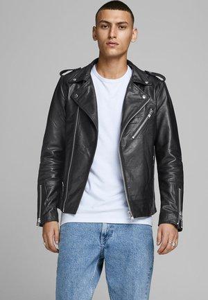 TERMINATOR - Leren jas - black