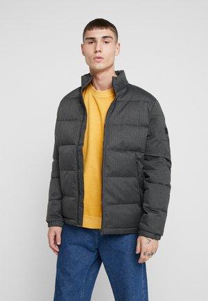 COSPY JACKET - Zimní bunda - black/melange
