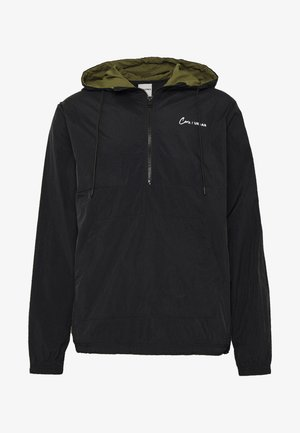 JCOTYLER HALF ZIP JACKET - Lehká bunda - black