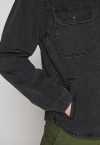 Jack & Jones - ICHASE JACKET - Denim jacket - black denim - 4