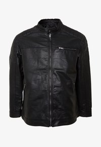 Jack & Jones - JCOROCKY JACKET - Veste en similicuir - black - 4
