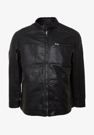 JCOROCKY JACKET - Faux leather jacket - black