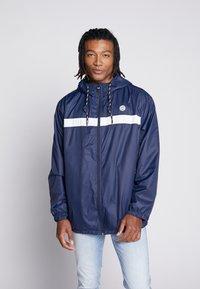 Jack & Jones - JORCOTT LIGHT JACKET - Summer jacket - navy blazer - 0