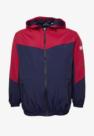 JCOSPRING LIGHT JACKET - Tunn jacka - rio red/maritime blue