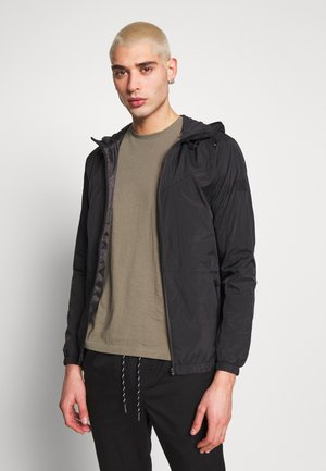 JCOSPRING LIGHT JACKET - Kurtka wiosenna - black