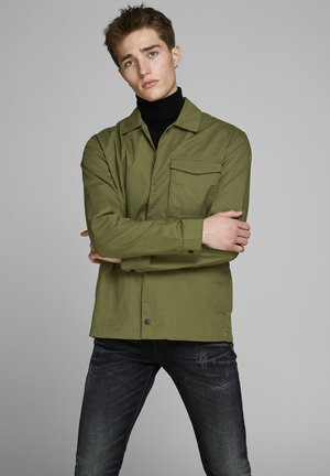 Light jacket - winter moss