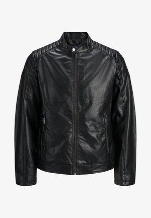 MOTOCROSS - Veste en similicuir - black
