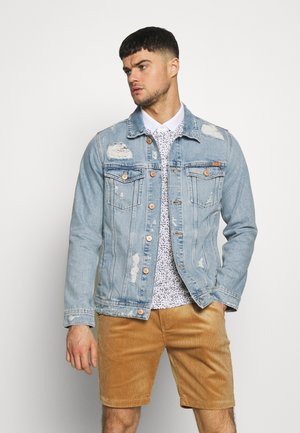 JJIJEAN JJJACKET - Denim jacket - blue denim