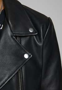 Jack & Jones - HYPER - Leren jas - black - 5