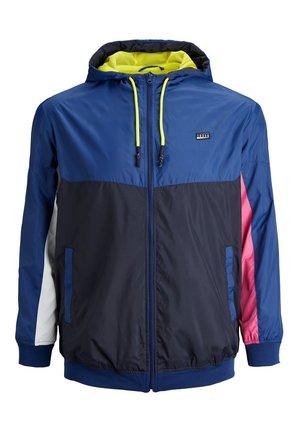 Summer jacket - navy peony