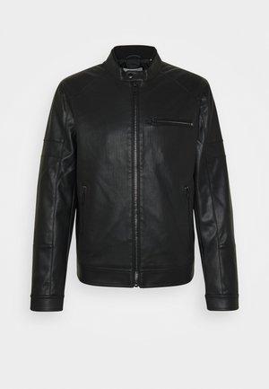 JCOARTHAS - Veste en similicuir - black