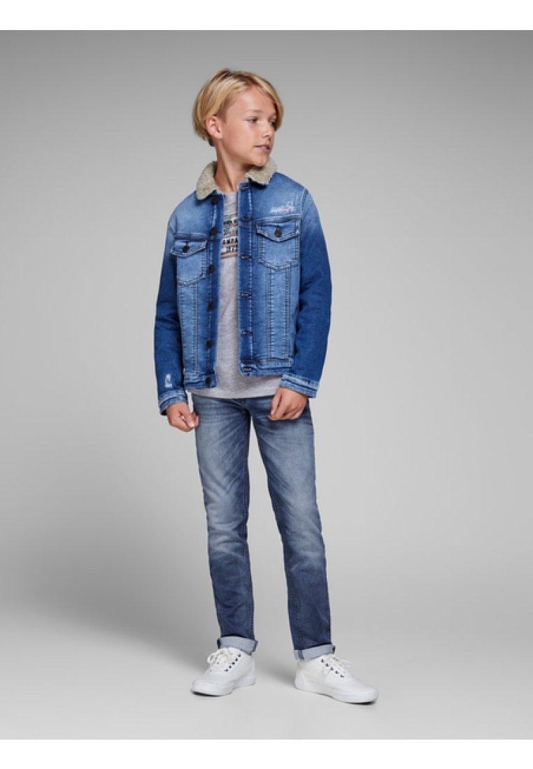 Jack & Jones Junior - BOYS - Slim fit jeans - blue denim