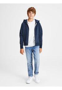 Jack & Jones Junior - REGULAR FIT - Hoodie met rits - navy blazer - 1