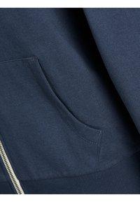 Jack & Jones Junior - REGULAR FIT - Hoodie met rits - navy blazer - 5