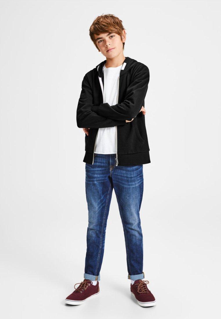 Jack & Jones Junior - REGULAR FIT - Zip-up hoodie - black
