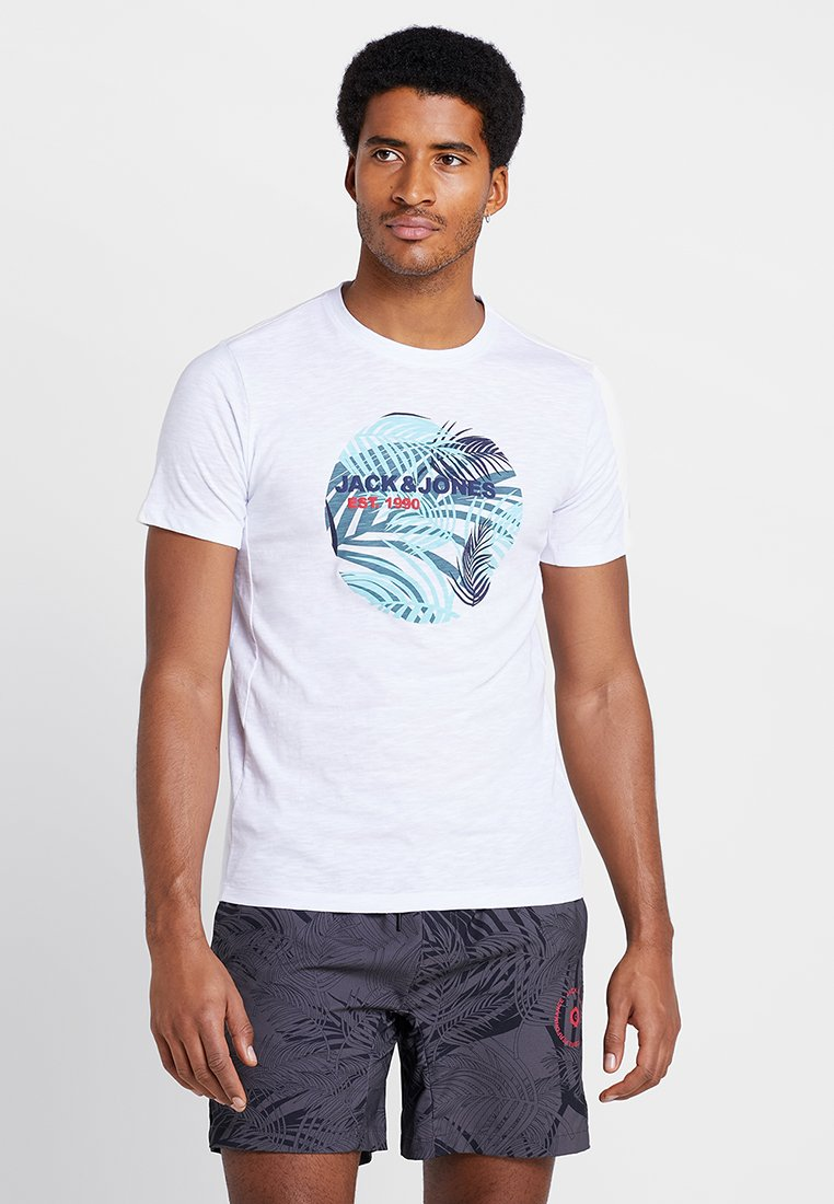 Jack & Jones - JCOSURF TEE - T-shirts print - white