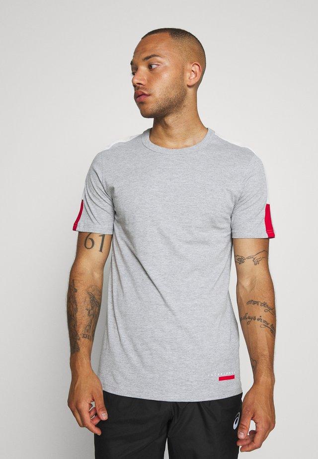 JCOJORDY TEE CREW NECK - T-Shirt basic - light grey melange