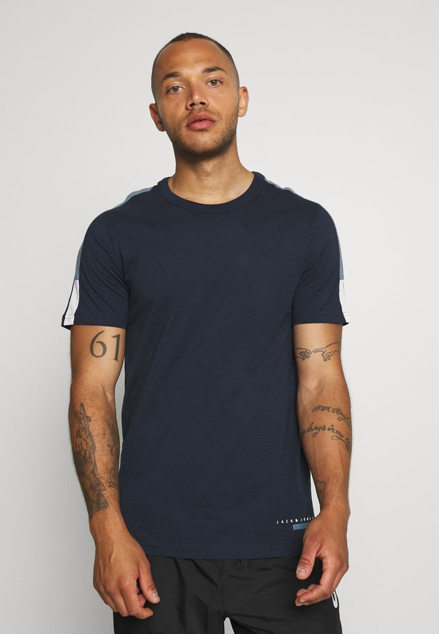 JCOJORDY TEE CREW NECK - T-Shirt basic - navy blazer
