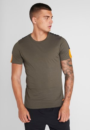 JCOJORDY TEE CREW NECK SLIM FIT - T-shirt print - forest night