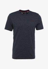 Jack & Jones - JCOSPARK TEE CREW NECK SLIM FIT - T-shirt med print - sky captain - 4