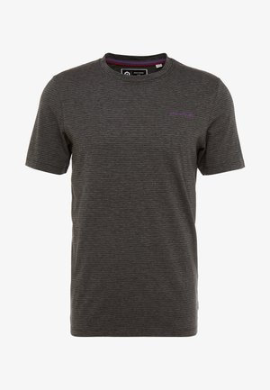 JCOSPARK TEE CREW NECK SLIM FIT - T-shirt med print - black