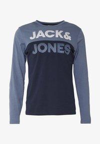 Jack & Jones - JCOMILLER TEE SLIM FIT - Long sleeved top - sky captain - 3