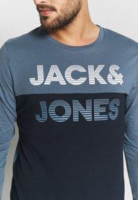Jack & Jones - JCOMILLER TEE SLIM FIT - Long sleeved top - sky captain - 4