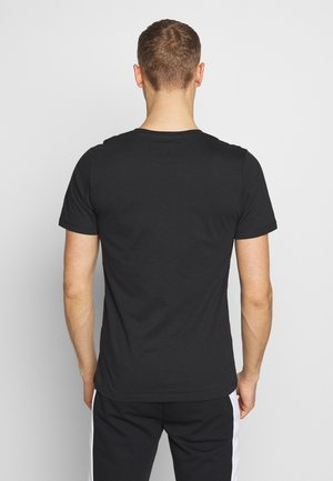 JCOSPORTS TEE CREW NECK - Print T-shirt - black