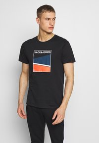 Jack & Jones - Print T-shirt - black - 2