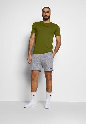 JCOZSS TEE SLIM FIT 2 PACK - Basic T-shirt - black/winter mos
