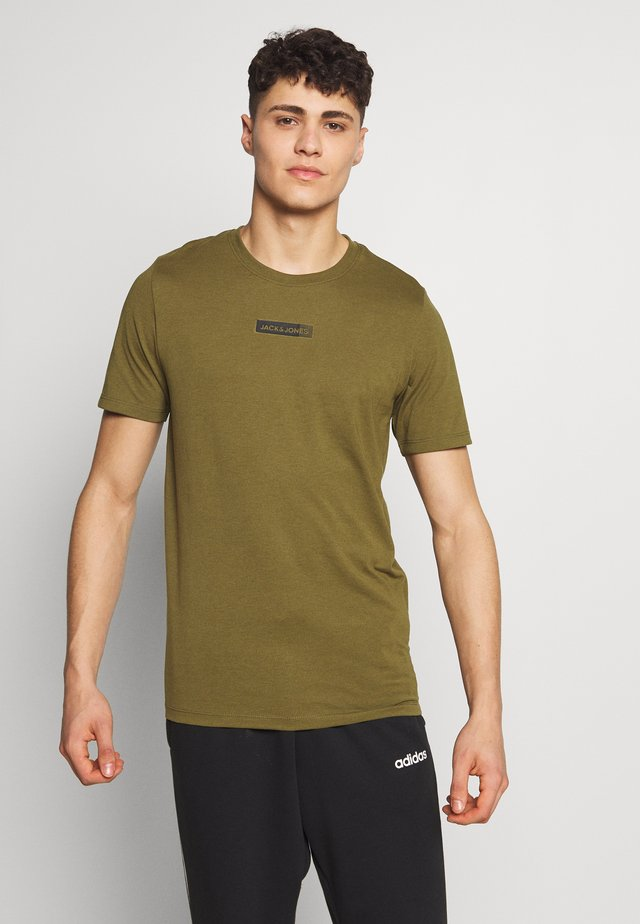 JCOZSS TEE - T-shirts basic - winter moss