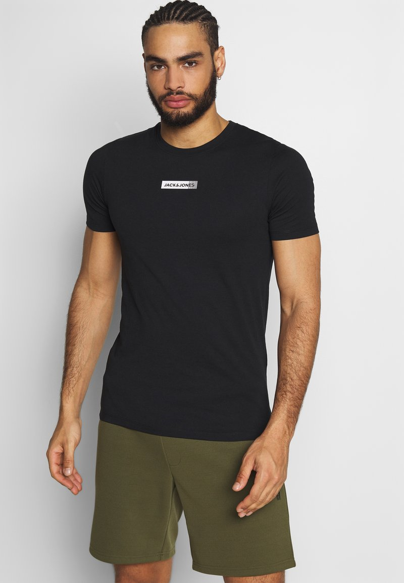 Jack & Jones - JCOZSS TEE - Basic T-shirt - black