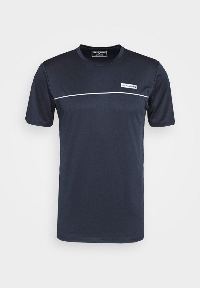 JCOZSS PERFORMANCE TEE - T-shirt imprimé - navy blazer