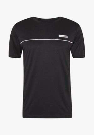 JCOZSS PERFORMANCE TEE - Print T-shirt - black